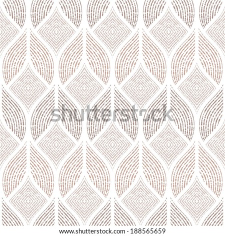 The geometric abstract pattern. Seamless vector background.  - stock vector