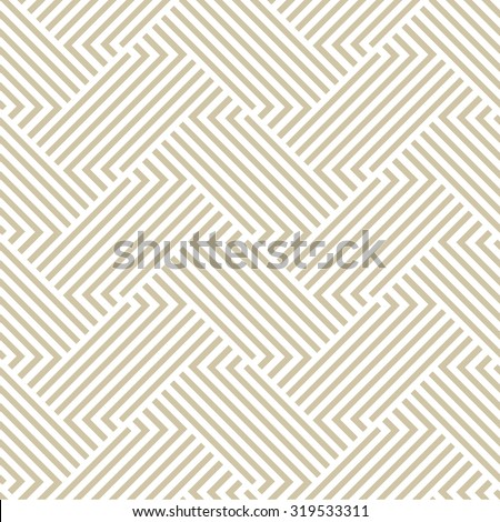 The geometric pattern by stripes . Seamless vector background - stock vector