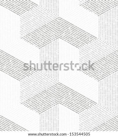 The geometric pattern. Grey, white texture.  Vector seamless background. - stock vector