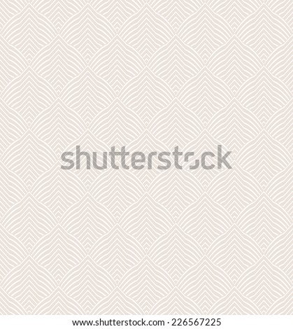 The geometric pattern. Seamless vector background. Beige and white texture. - stock vector