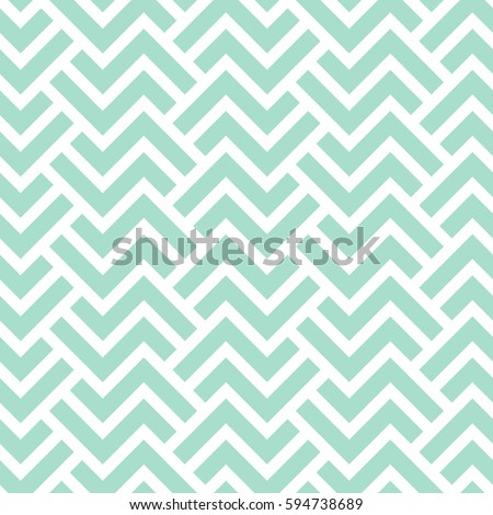 The geometric pattern with stripes . Seamless vector background. Green and white texture. Graphic modern pattern.