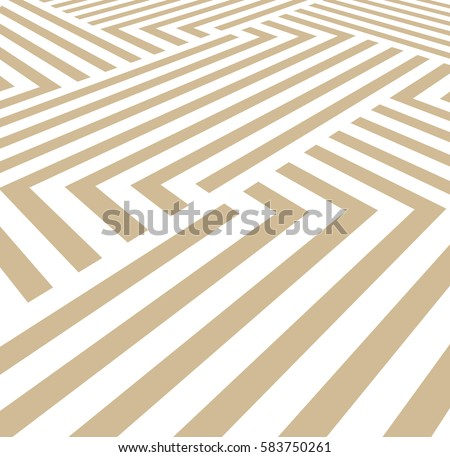 The geometric pattern with stripes, vector background. Beige and white texture. Graphic modern pattern.