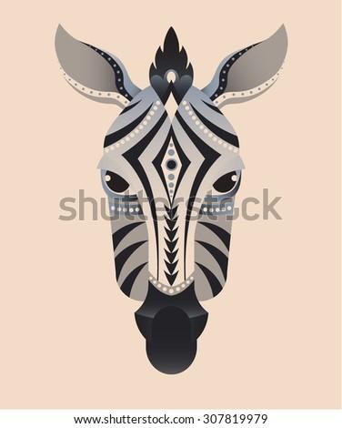 gazelle skull springbok engraving style stock vector 393065293 shutterstock. Black Bedroom Furniture Sets. Home Design Ideas