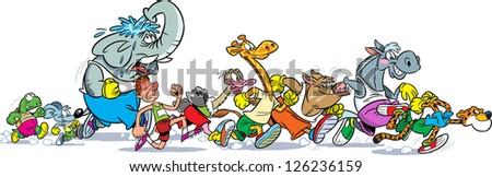 Cheetah Cartoon Stock Images Royalty Free Images