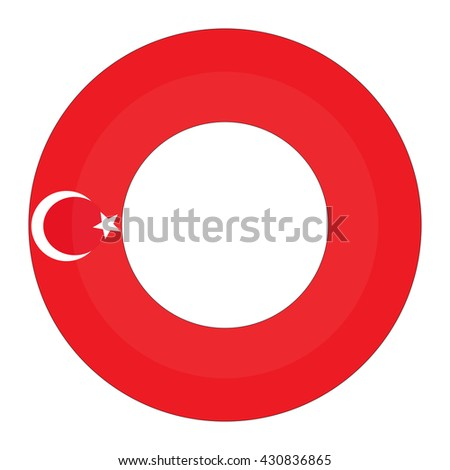The letter and Turkey flag.