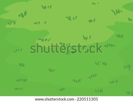 The lush green lawns Grass vector - stock vector