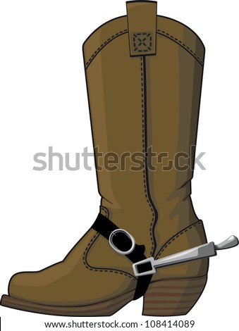 Cowboy Boots Spurs Isolated Stock Photos, Royalty-Free Images ...
