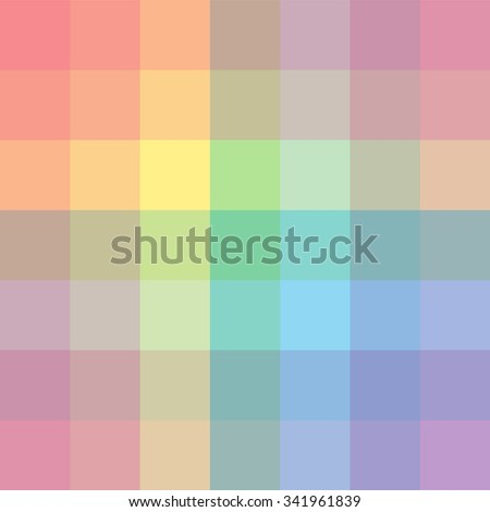 The palette of colors. Imposition of color on color.. Background. Vector colored background. Pictorial art. Rainbow design elements.  - stock vector