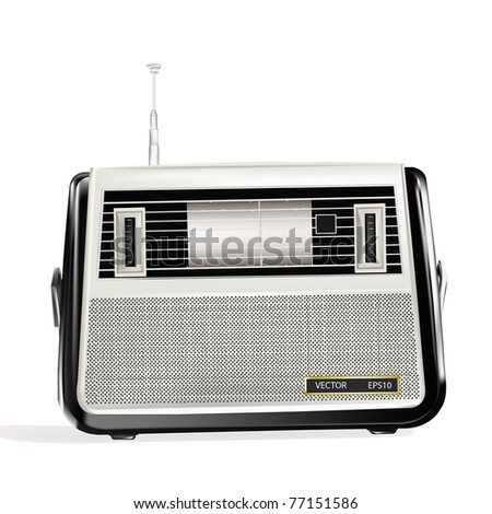 The retro a radio receiver will present to you warm memoirs and favourite musical melodies