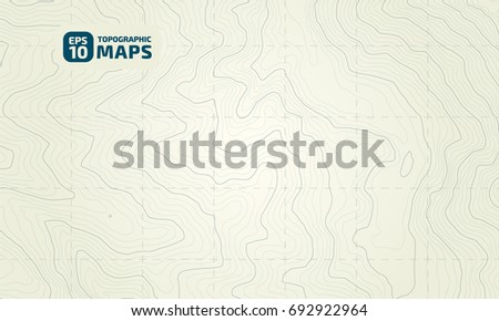 Contour Line Drawing Map : Stylized height topographic contour lines contours stock vector