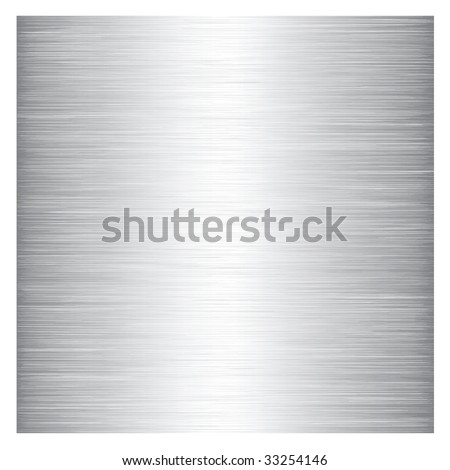 The texture of a variety of metal colors. - stock vector