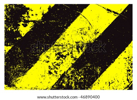 The texture of the old painted metal or concrete surface. - stock vector