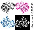 THE ULTIMATE SCROLL ELEMENTS 01 - stock vector