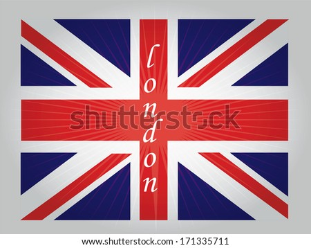 the united kingdom flag with its respective colors