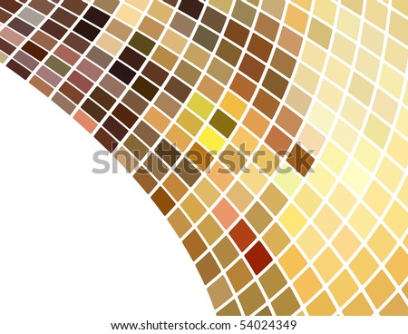 the vector brown abstract background