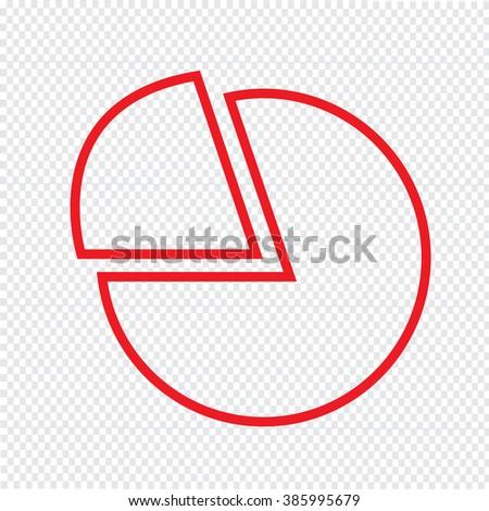 Thin Line Chart Icon Illustration design - stock vector