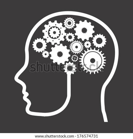 think design over black background vector illustration - stock vector