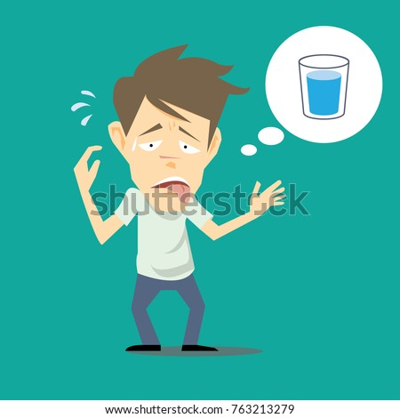 Dry Feeling Mouth After Drinking Water