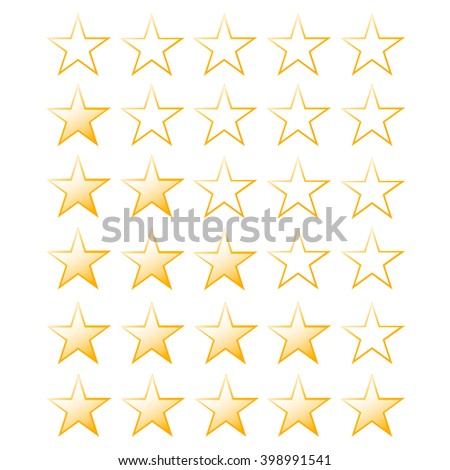 thirty stars of rating