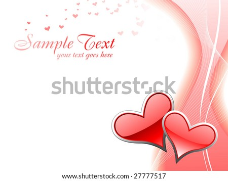 This is a beautiful heart vector design