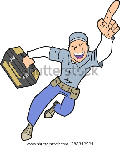 Box Wrench Clip Art Handy Man Stock Images...