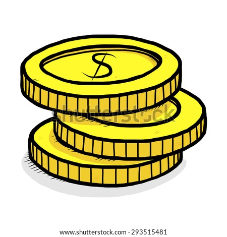 cartoon coins pictures