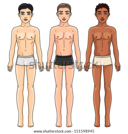 Female body shape by ethnicity