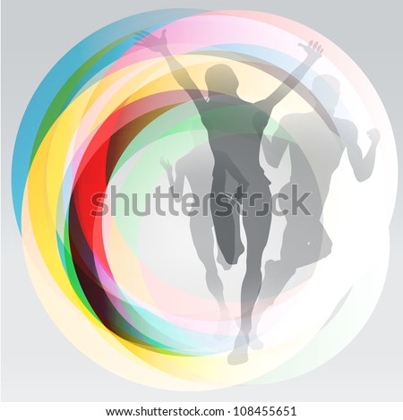 Translucent Olympic Rings