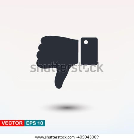 Thumb down icon, Thumb down icon eps, Thumb down icon art, Thumb down icon jpg, Thumb down icon web, Thumb down icon ai, Thumb down icon app, Thumb down icon flat, Thumb down icon logo, Thumb down - stock vector