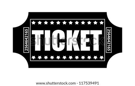 Ticket Vector - stock vector