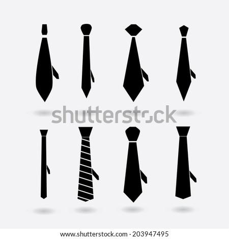 tie - stock vector