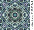 Tifelt Star Complex Ornament - stock vector