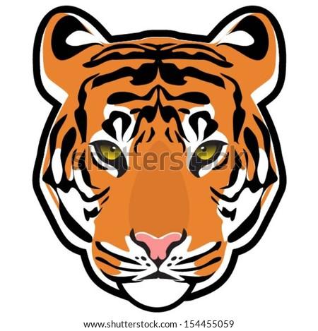 tiger face stock images  royalty free images   vectors Free Clip Art Zebra Print Leopard Shoes Clip Art