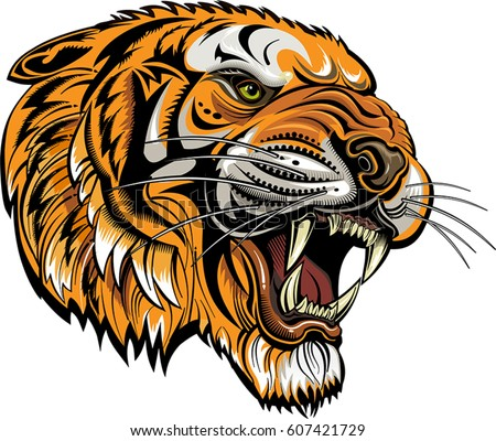 Tiger Vector Stock Images Royalty Free Images Amp Vectors Shutterstock