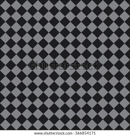 Tile black and grey vector pattern or website background - stock vector
