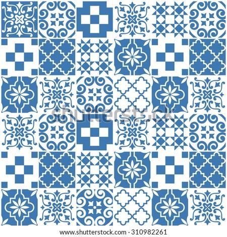 tile pattern design. vector illustration - stock vector