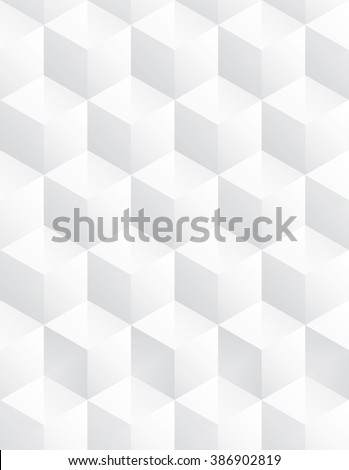 Tileable modern recurring creative concept design techno textural fond consisting of unit plastic blocs piled on one another. Trendy cute art prominent multifaceted extruded style template surface - stock vector