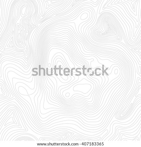 Tileable topographic map background concept with space for your copy, elevation map. - stock vector