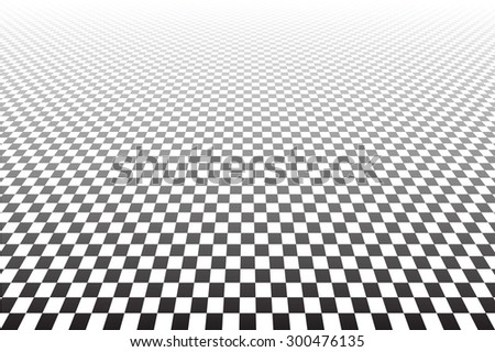 Tiled textured surface. Abstract geometric checked background. Vector art. - stock vector
