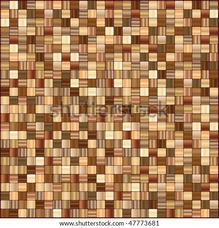 Tiles mosaic - stock vector