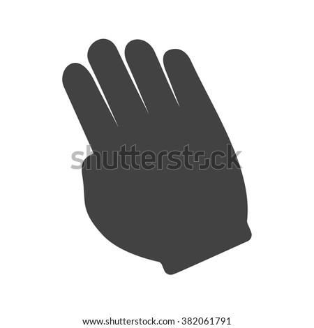 Tilted Hand - stock vector