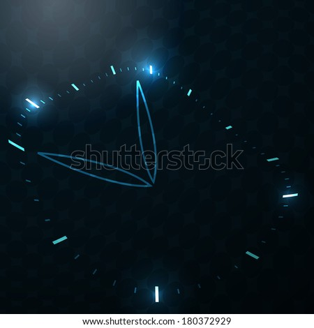 Time abstract theme