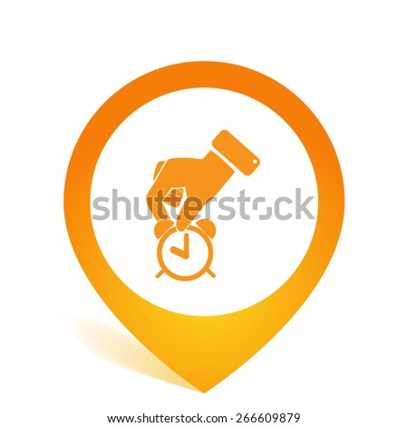 time and money allocation - stock vector