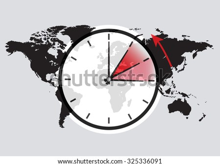time change in the world