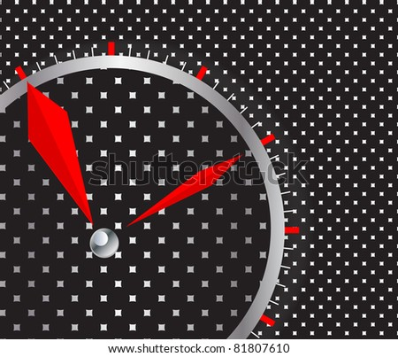 time concept vector background - stock vector