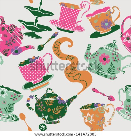 Time for Tea - stock vector