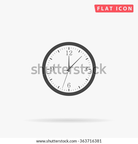 Time Icon.  - stock vector