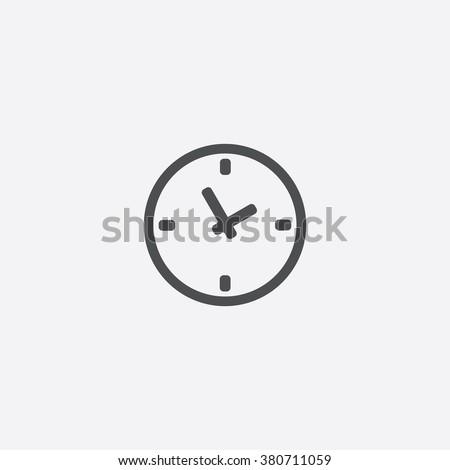 Time Icon. Time Icon Vector. Time Icon Art. Time Icon eps. Time Icon Image. Time Icon logo. Time Icon Sign. Time Icon Flat. Time Icon design. Time icon app. Time icon UI. Time icon web. Time icon gray - stock vector