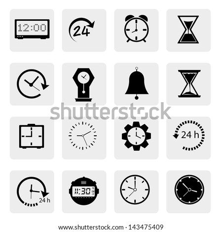 Time icons Vector.