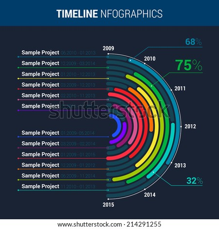 infographic ideas resume timeline infographic timeline infographic vector cv resume business stock vector